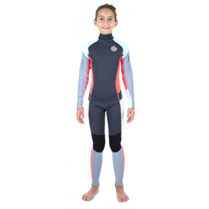 RIP CURL NEOPRENO 4/3 JNR DAWN PATROL BACK ZIP