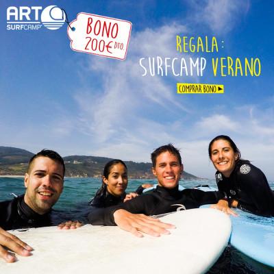 BONO REGALO ARTSURFCAMP VERANO