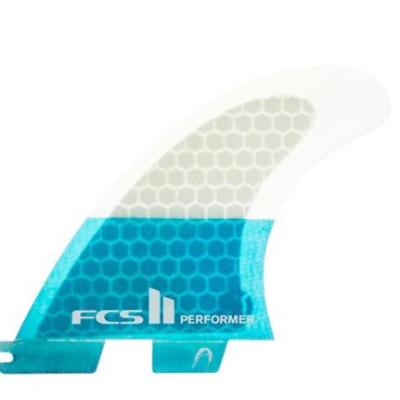 FCS II QUILLAS PERFORMER PC TEAL TRI
