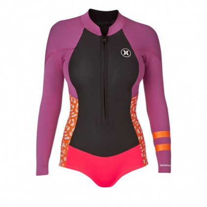 HURLEY FUSION 202 SPRING SUIT PURPLE
