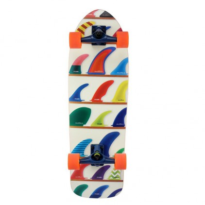 MILLER SURF SKATE WHEELS & FINS 32''