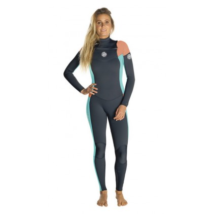 RIP CURL NEOPRENO 5/3 DAWN PATROL CHEST ZIP GB