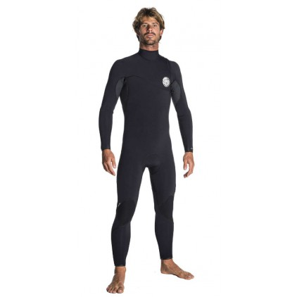 RIP CURL NEOPRENO 4/3 FLASHBOMB ZIP FREE GB
