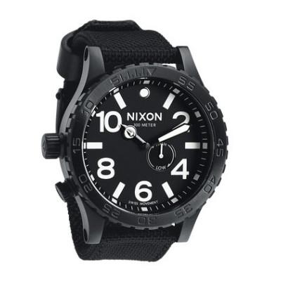 nixon 51-30 tide all black
