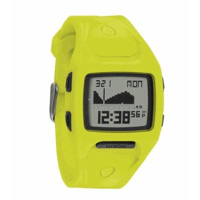 nixon reloj chica small lodown II neon yellow