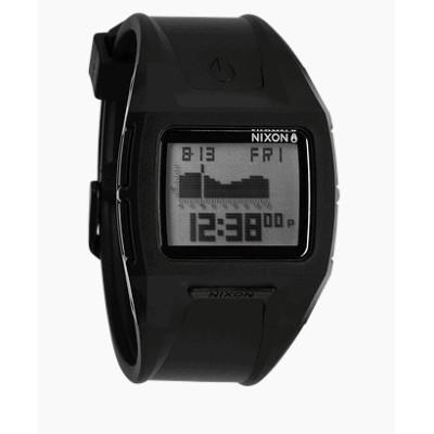 nixon reloj chico lodown II black positive