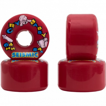 SEISMIC RUEDAS CRY BABY 64MM 84A