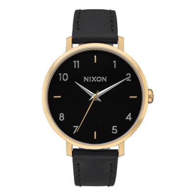 NIXON RELOJ ARROW LEATHER GOLD/BLACK