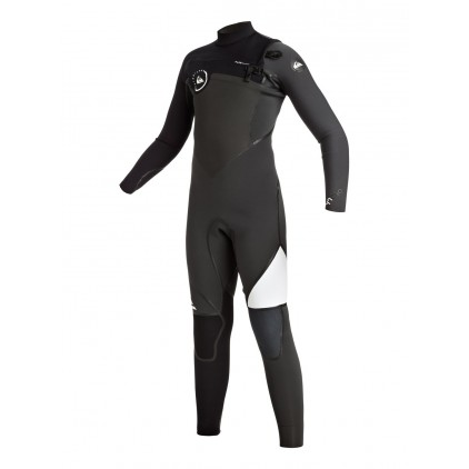 QUIKSILVER NEOPRENO 4/3 JNR SYNCRO CHEST ZIP