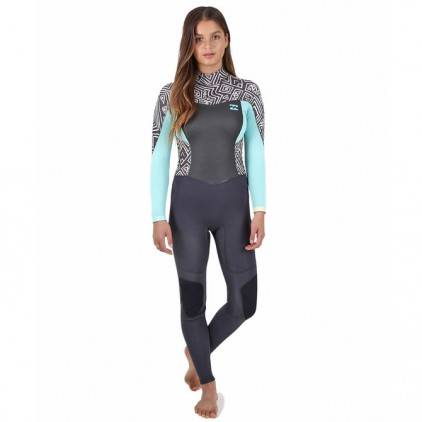 BILLABONG NEOPRENO 4/3 SYNERGY FULL CHEST ZIP