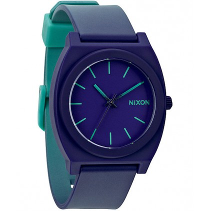 NIXON RELOJ TIME TELLER P TEAL PURPLE FADE