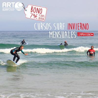 BONO REGALO CURSO DE SURF EN ARTSURFCAMP