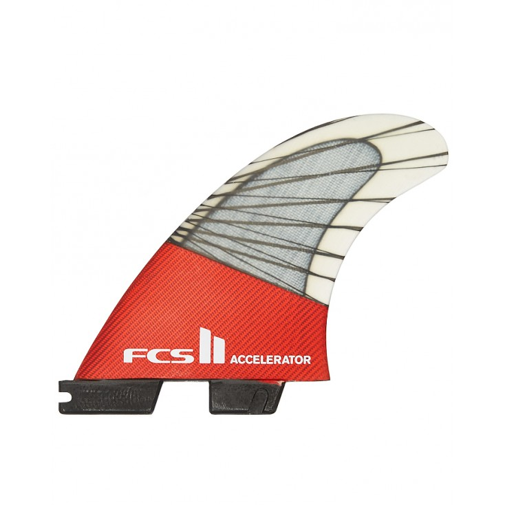 FCS II QUILLAS ACCELERATOR PC CARBON RED MOOD TRI