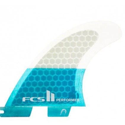 FCS II QUILLAS PERFORMER PC TEAL TRI