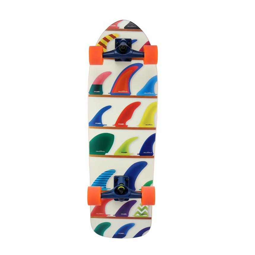 MILLER SURF SKATE WHEELS & FINS 32''