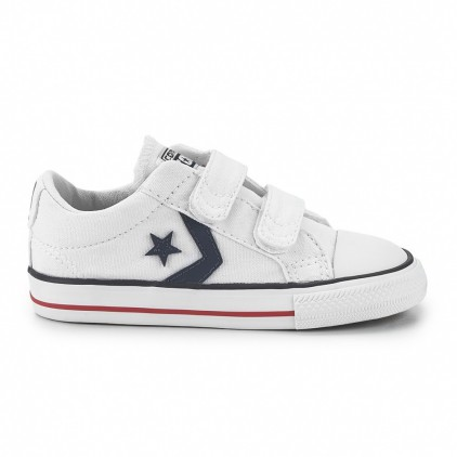 CONVERSE ZAPAS STAR PLAYER 3V OX WHITE/NAVY/R