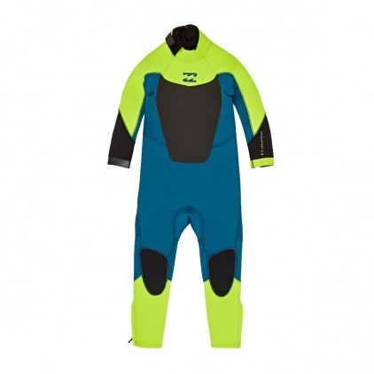 BILLABONG NEOPRENO NIÑO 3/2 ABSOLUTE COMP LIME