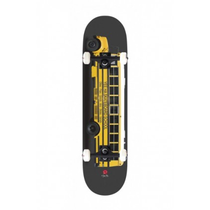 YEE HAA SKATEBOARD YELLOW BUS