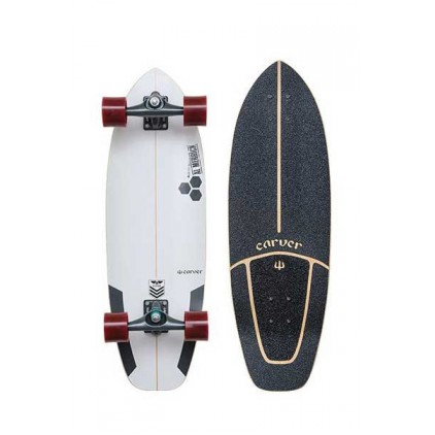 CARVER SURF SKATE 30.75 CI NEW FLYER C7 COMPL