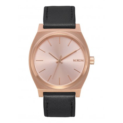 NIXON RELOJ TIME TELLER ALL ROSE GOLD BLACK