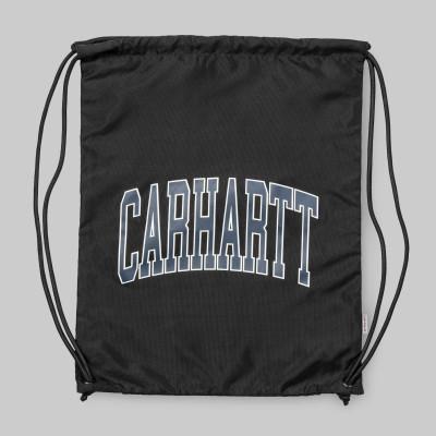 CARHARTT WIP MOCHILA CUERDAS DIVISION SCRIPT BAG BLACK/MULTICOLOR