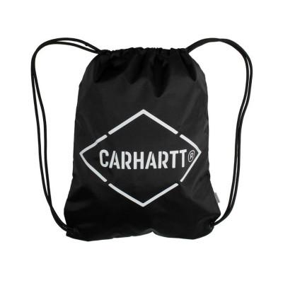 CARHARTT WIP MOCHILA CUERDAS DIAMOND SCRIPT BLACK/WHITE