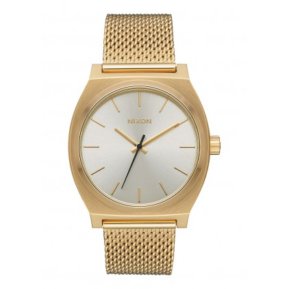 NIXON RELOJ TIME TELLER MILANESE ALL GOLD/CREAM