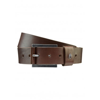 NIXON CINTURON AMERICANA BELT DARK BROWN