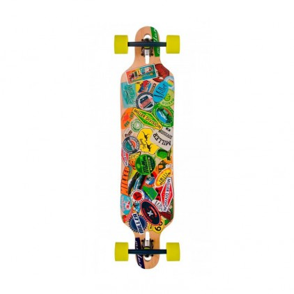 MILLER LONGBOARD TRAVEL STICKERS