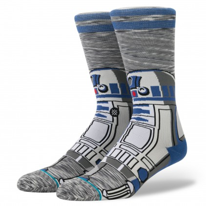 STAR WARS STANCE CALCETINES R2 UNIT GREY