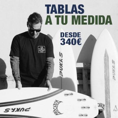 tabla de surf a medida