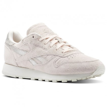 REEBOK ZAPAS CLASSIC LEATHER SHIMMER PALE PINK
