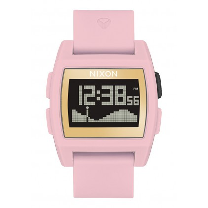 NIXON RELOJ BASE TIDE SOFT PINK/ GOLD/ LH