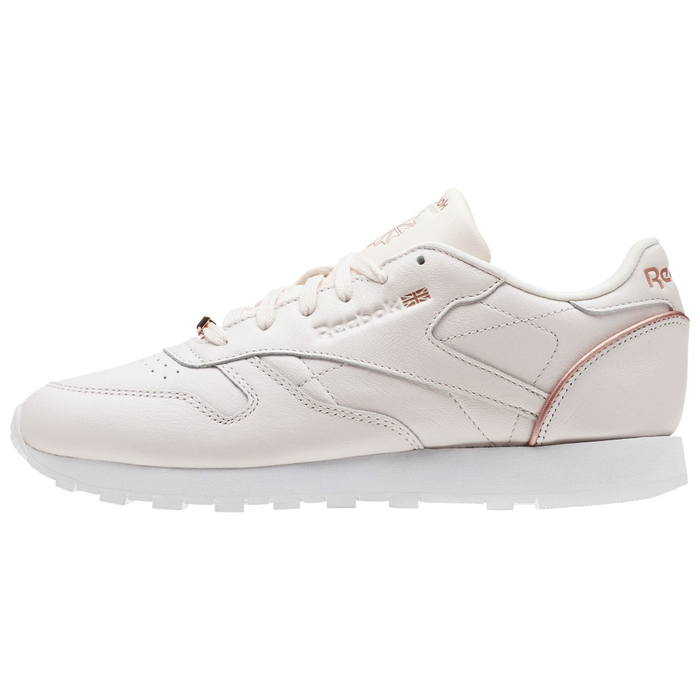 Reebok Cl Leather Hw W Calzado white/rose gold