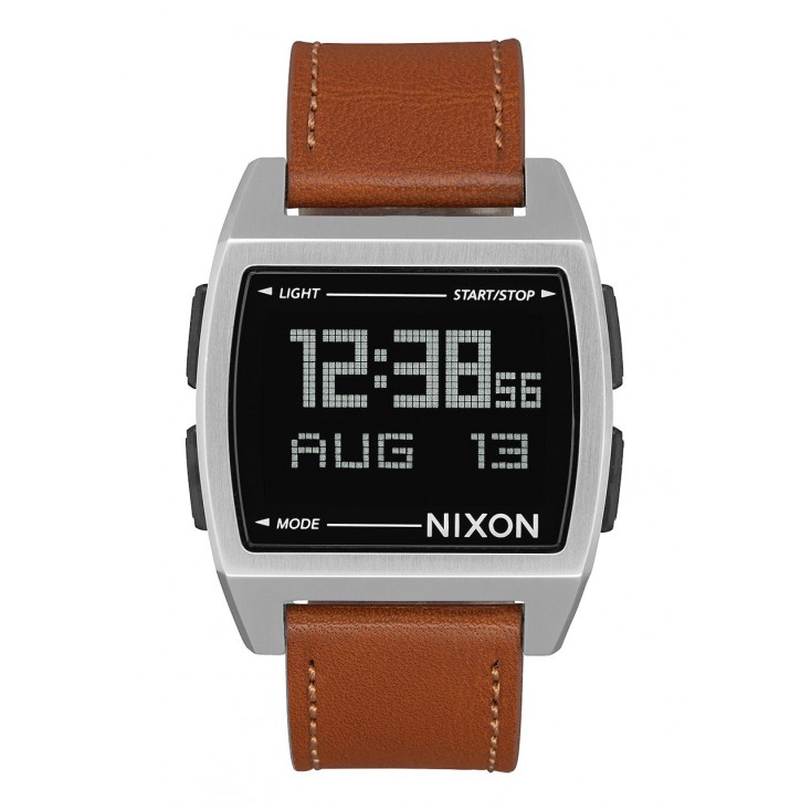 NIXON RELOJ BASE LEATHER 38MM SADDLE