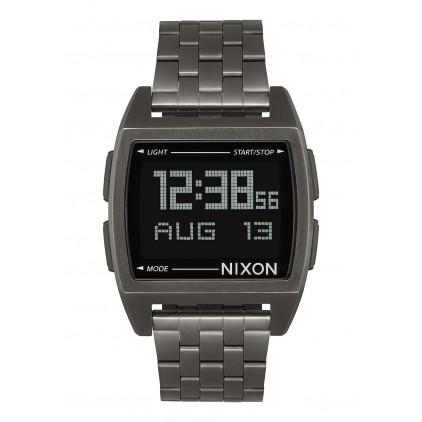 NIXON RELOJ BASE 38MM ALL GUNMETAL