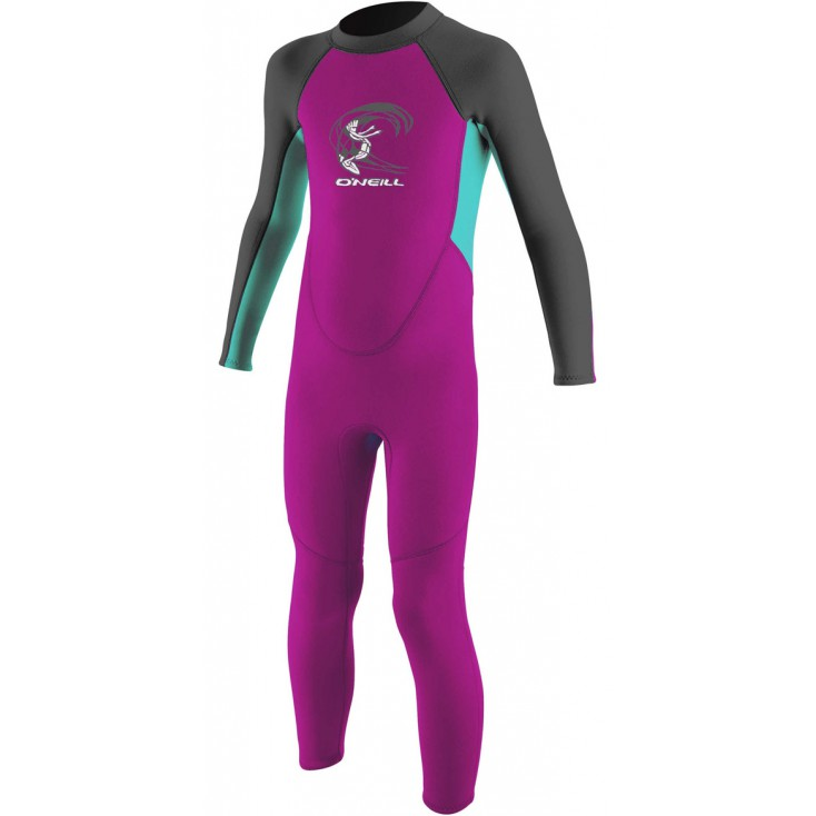ONEILL NEOPRENO TODDLER REACTOR FULL GIRLS 2MM
