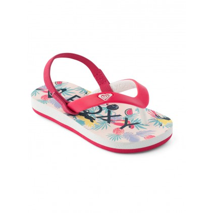 ROXY CHANCLAS BABY TAHITI VI RED