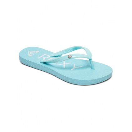 ROXY CHANCLAS SANDY LIGHT BLUE