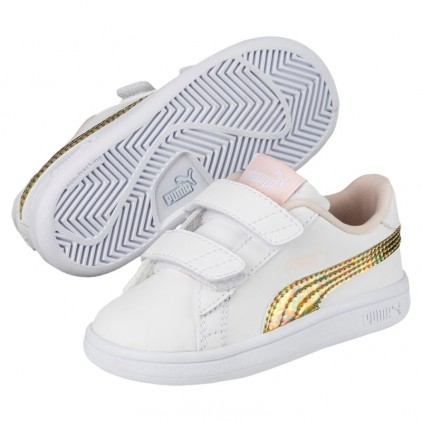 PUMA ZAPAS BABY SMASH MERMAID PINK