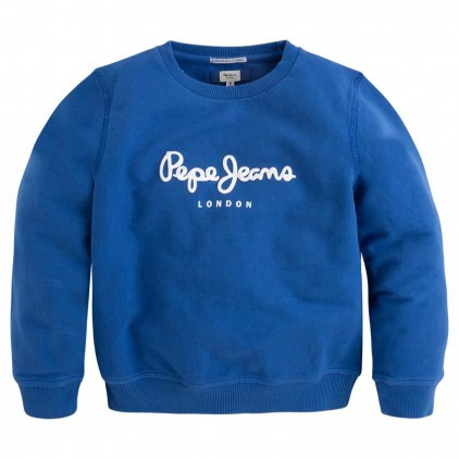 PEPE JEANS SUDADERA RONIT JR FRENCH BLUE