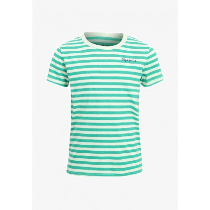 PEPE JEANS CAMISETA FINLAY JR GREEN