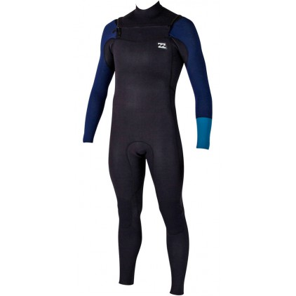 BILLABONG NEOPRENO 4/3 REVOLUTION TRI BONG CHEST ZIP PETROL