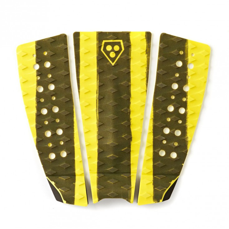GORILLA GRIP 3 PIEZAS BLACK AND YELLOW