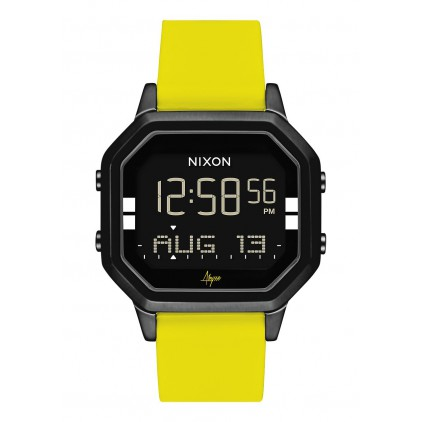 NIXON RELOJ SIREN BLACK / YELLOW