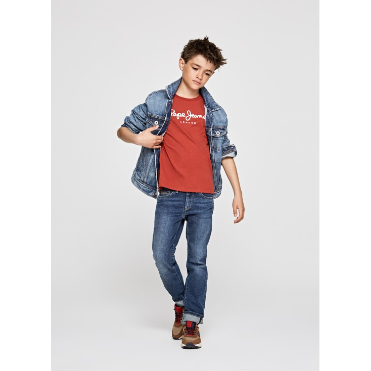 PEPE JEANS CAMISETA MANGA LARGA NEW HERMAN JR