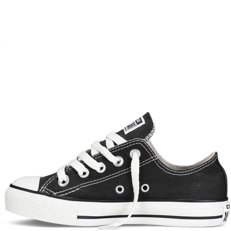 COVERSE ZAPAS ALLSTAR OX BLACK