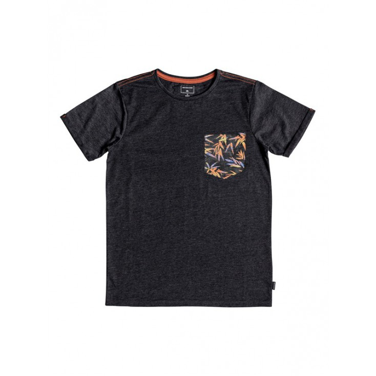 QUIKSILVER CAMISETA STAY BLACK