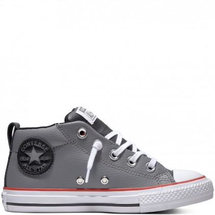 CONVERSE ZAPAS CHUCK TAYLOR ALL STAR STREET LEATHER MID