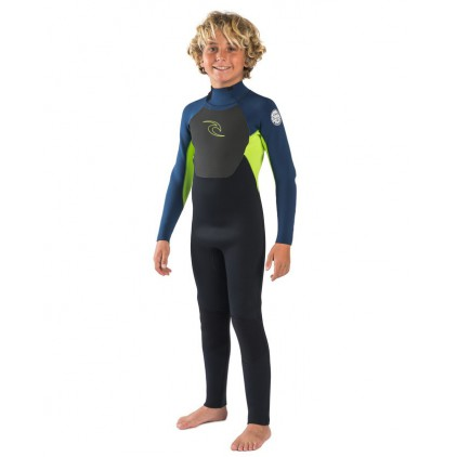 RIP CURL NEOPRENO JUNIOR 5/3 OMEGA GB BACK ZIP